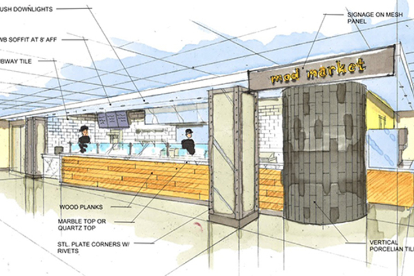 3 dining options selected for Duncan Student Center