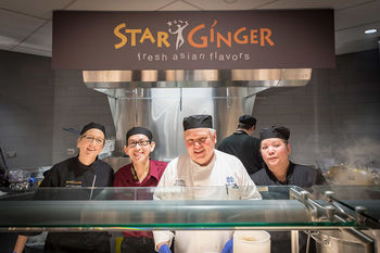 Star Ginger Staff