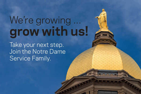 Notre Dame Service Family Career Fair